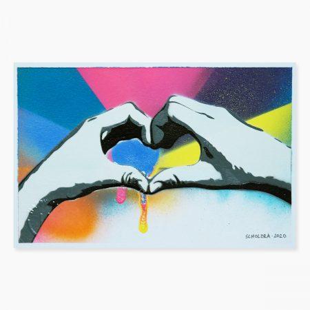 HAPPY ART - love (09)