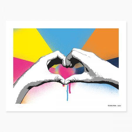HAPPY ART - love